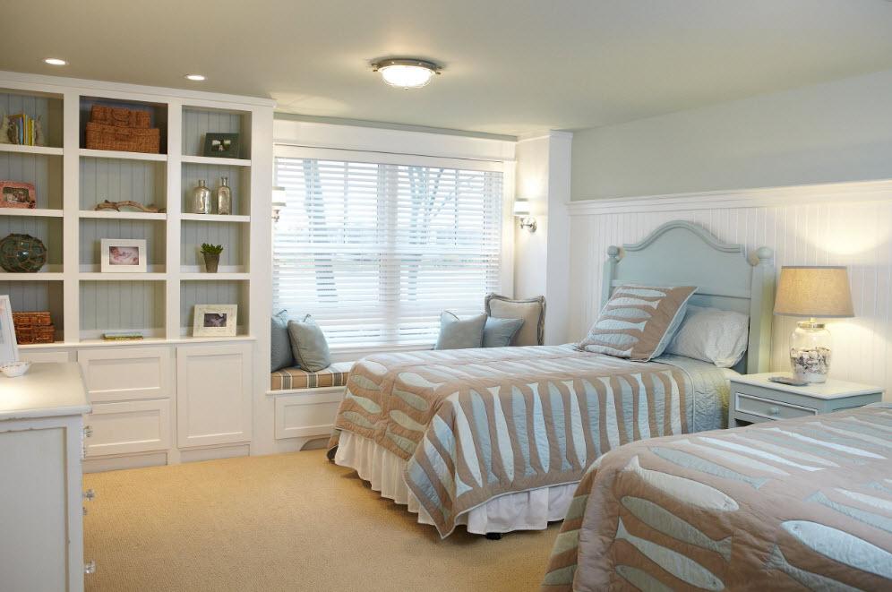 Для комнаты с двумя кроватями