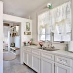 Тюль для кухни – завершающий штрих интерьера
