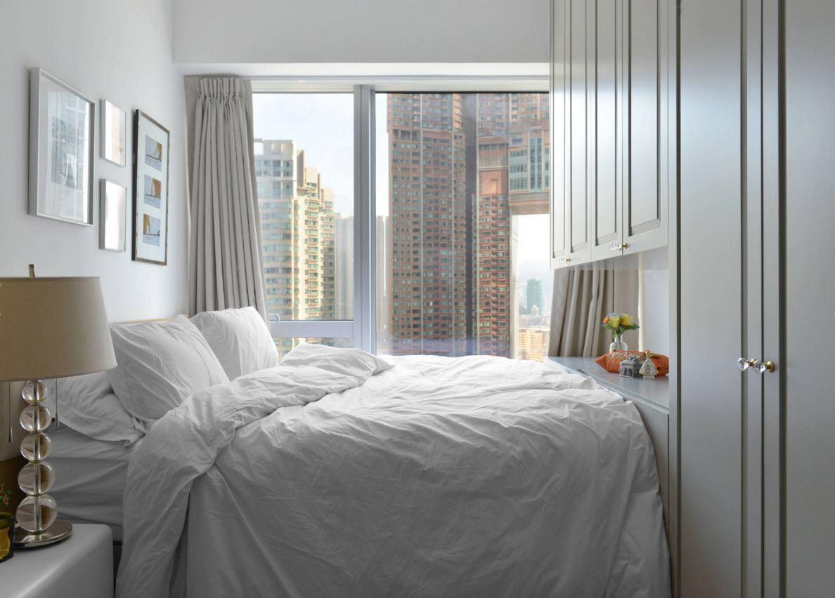 Белый цвет для маленьких комнат