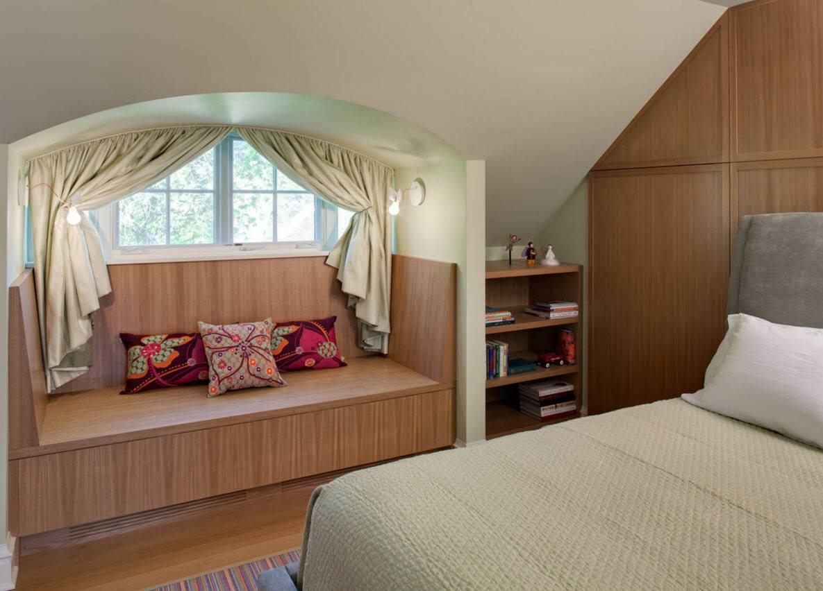 Спальня на чердаке