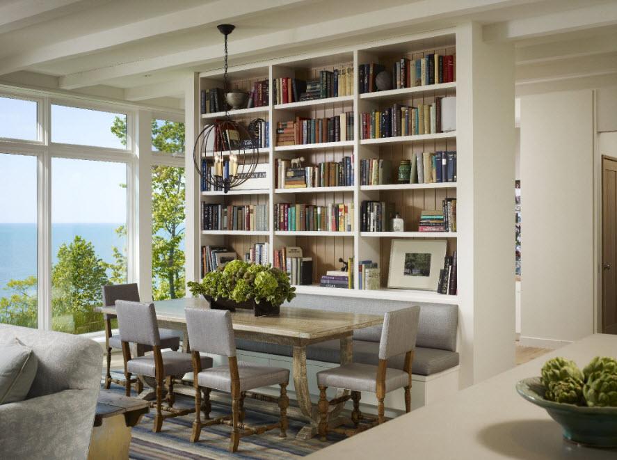 Книжный шкаф - перегородка