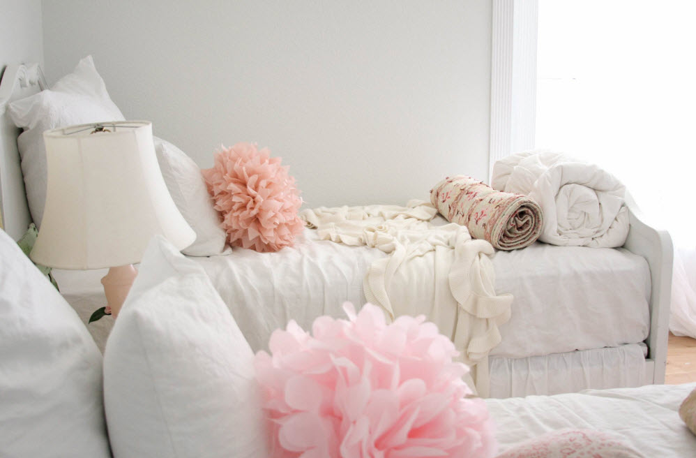 Декор в девичьей спальне