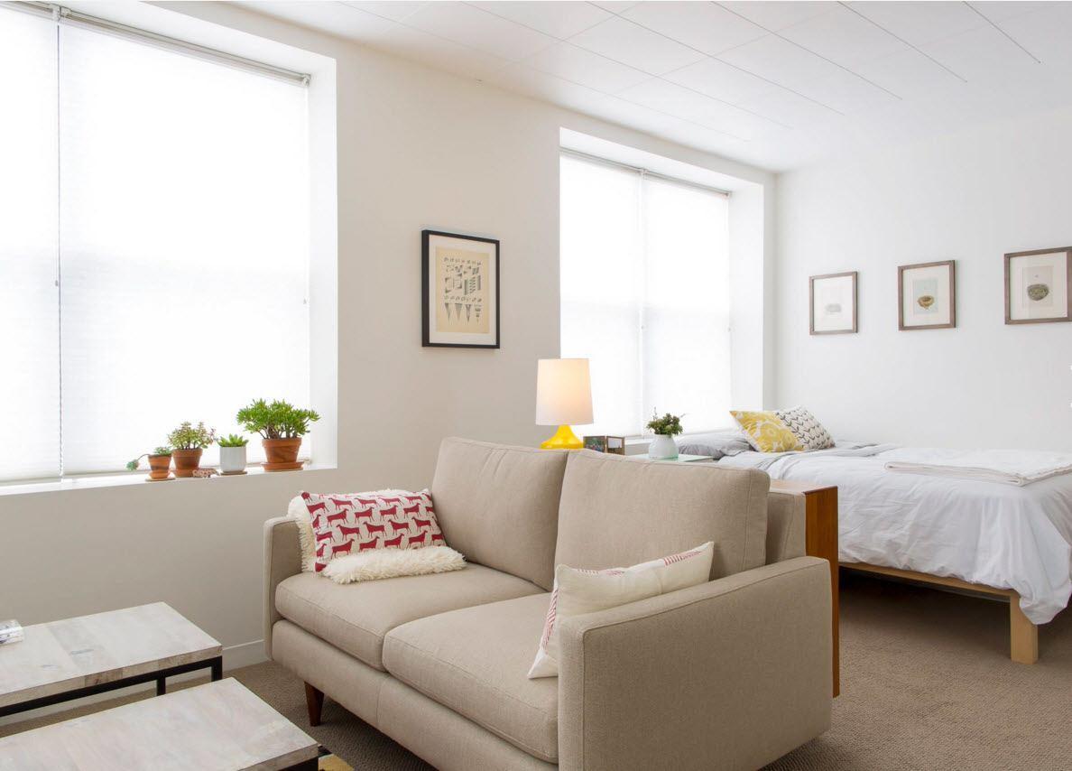 Квартира с открытой планировкой