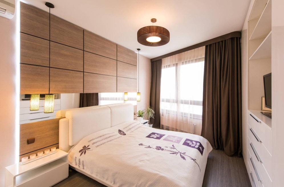 Текстиль для оформления спальни