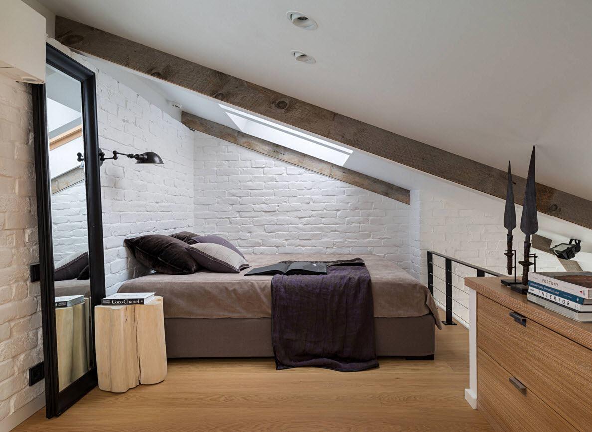 Эко-стиль в спальне