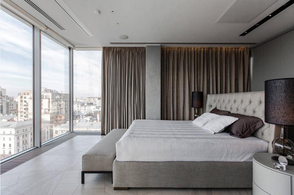 Кровать - центр спальни