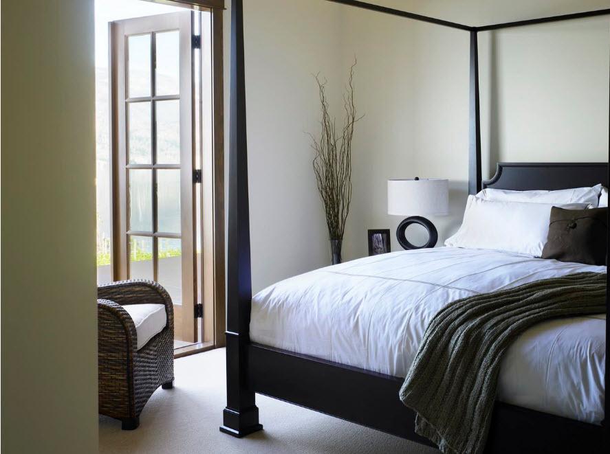 Как должна стоять кровать в спальне? 100 лучший идей