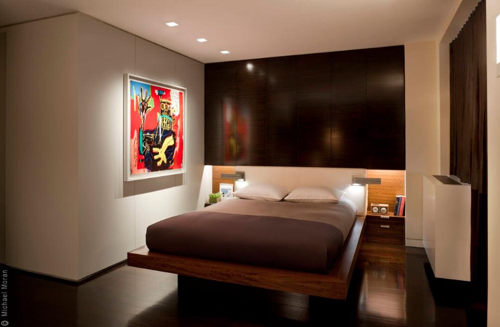 Кровать для небольшого помещения
