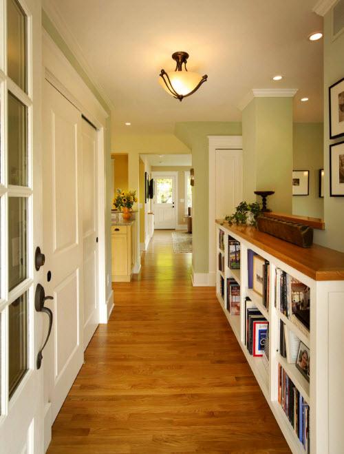 Хранение в коридорах и прихожих