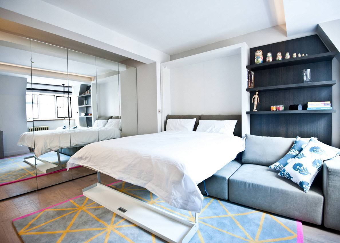 Спальня и гостиная 2 в 1
