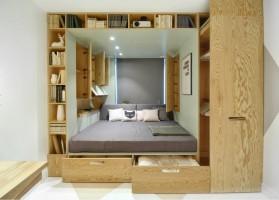 Встроенные конструкции для экономии пространства
