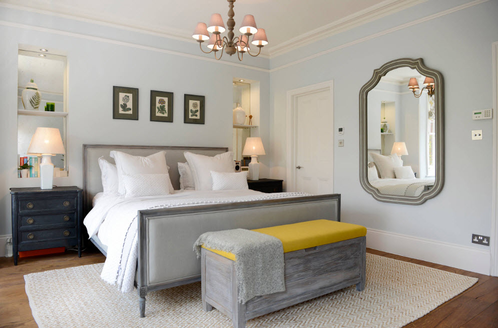 Спальня в стиле нео-классика