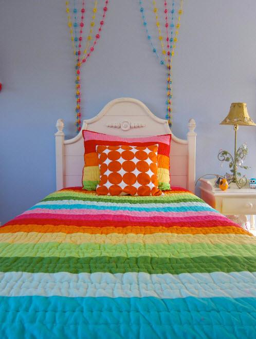 Яркие ткани для детской