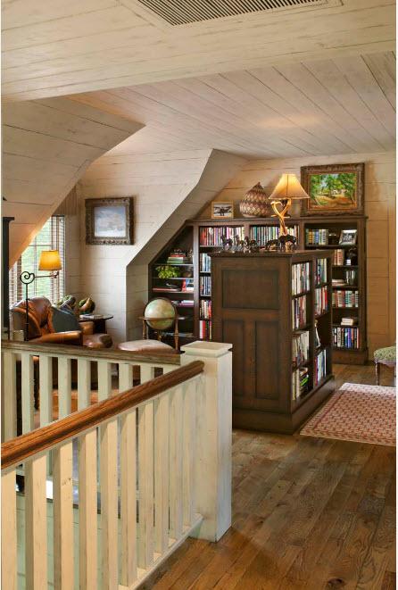 Книжный шкаф-остров