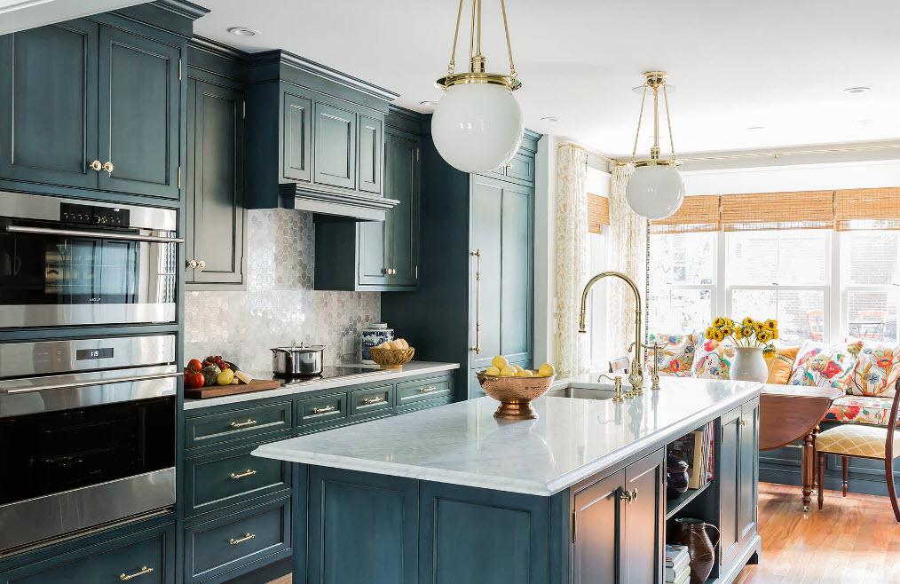 Оформление кухонного уголка