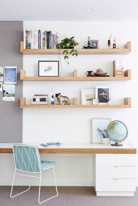 Лаконичный дизайн кабинета