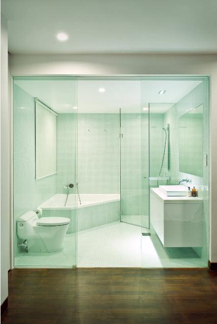 Стерильно-белоснежная ванная