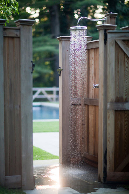 Летний душ на участке
