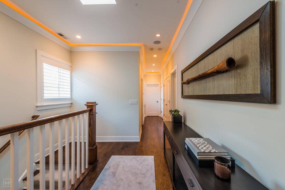 Системы хранения в пространстве у лестницы
