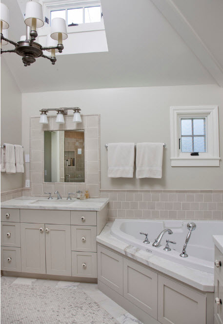 Гармоничный дизайн ванной комнаты