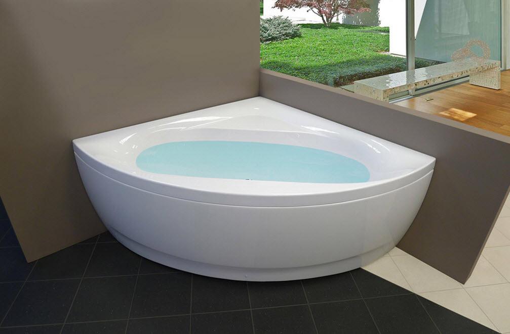 Оригинальная угловая ванна