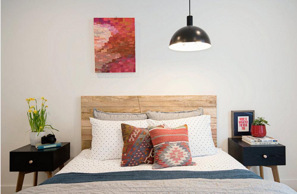 Самобытный дизайн спальни