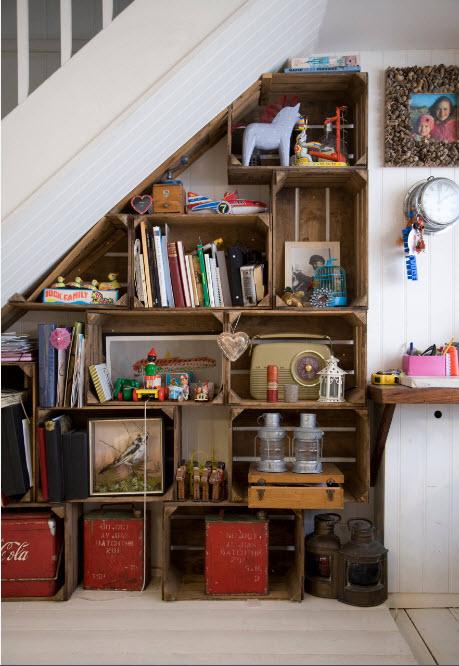 Системы хранения под лестницей