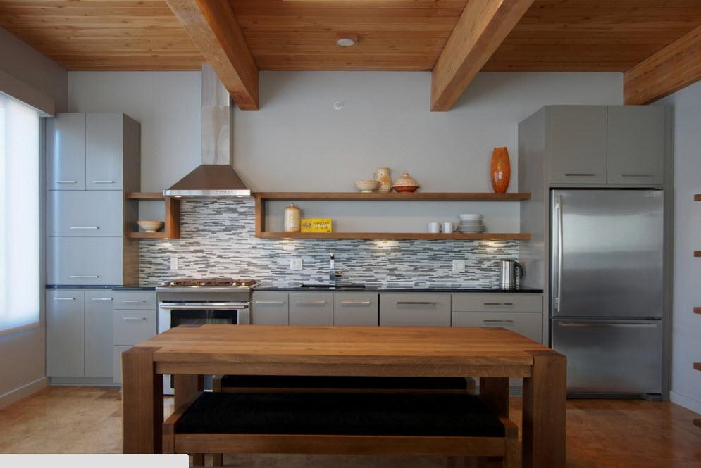 Практичная отделка кухонного фартука