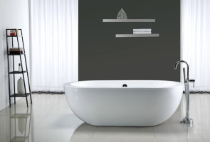 Акриловая ванна для современного интерьера