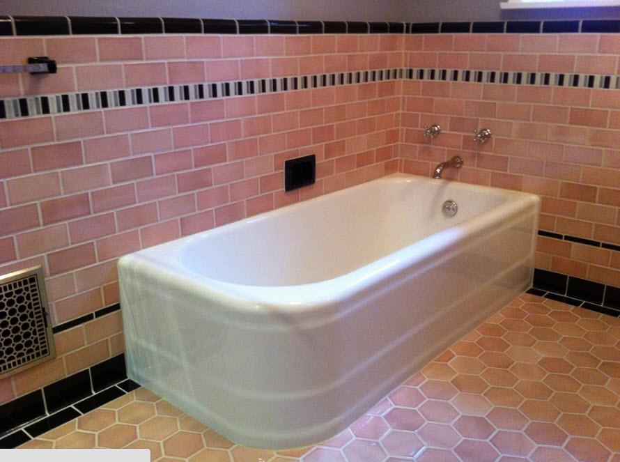 Вместительная ванна