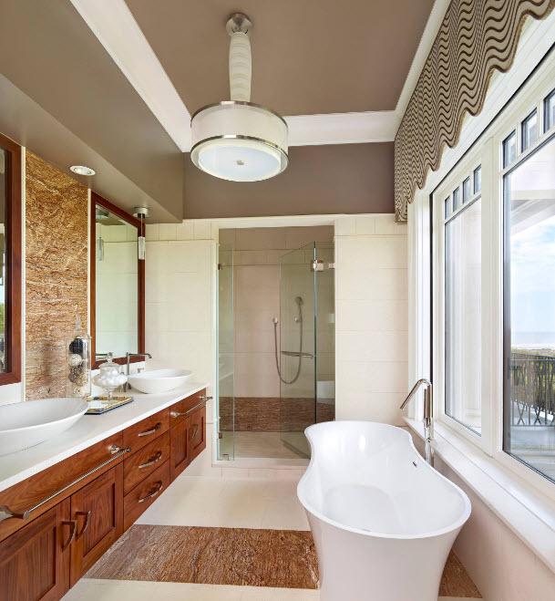 Необычное решение для ванны