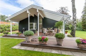 Обустройство террасы в загородном доме