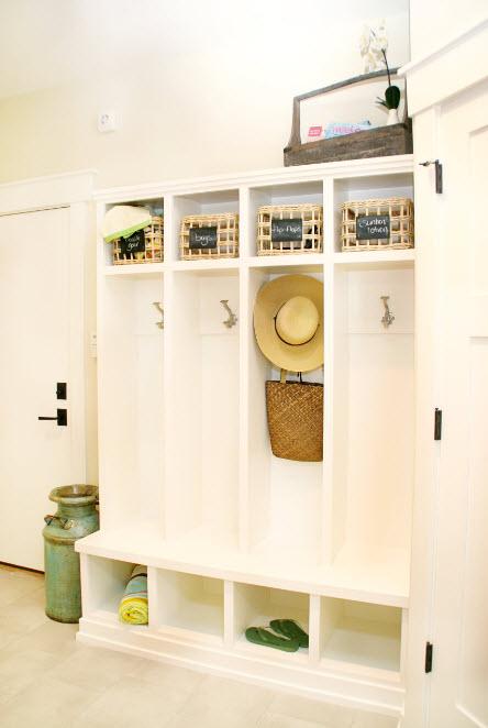 Системы хранения в прихожей