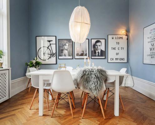 Лаконичный и комфортный интерьер в скандинавском стиле