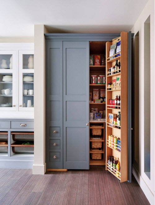 Мини-кладовка в шкафу
