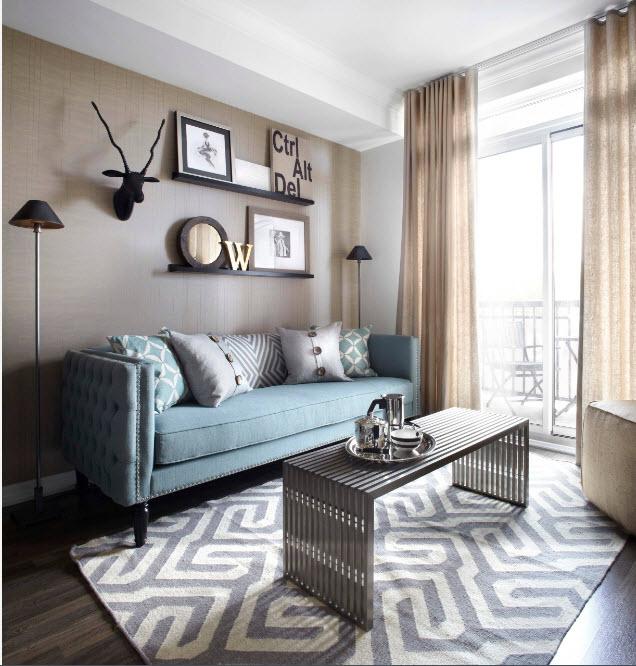 Текстиль в современной гостиной