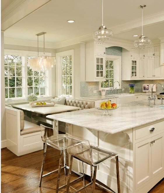Светлый кухонный образ
