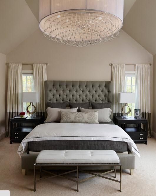 Модель для просторной спальни