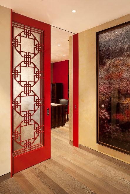 Дверь как декоративный элемент