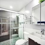 Дизайн маленькой ванной комнаты: отделка плиткой
