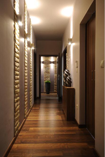 Система освещения в коридорах