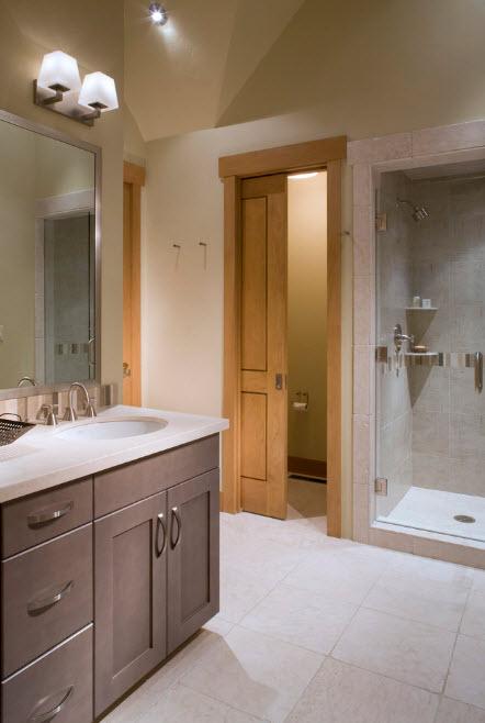 Сдвижная дверь для ванной