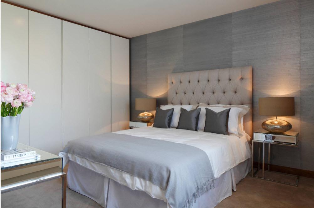 Настенные панели в спальне