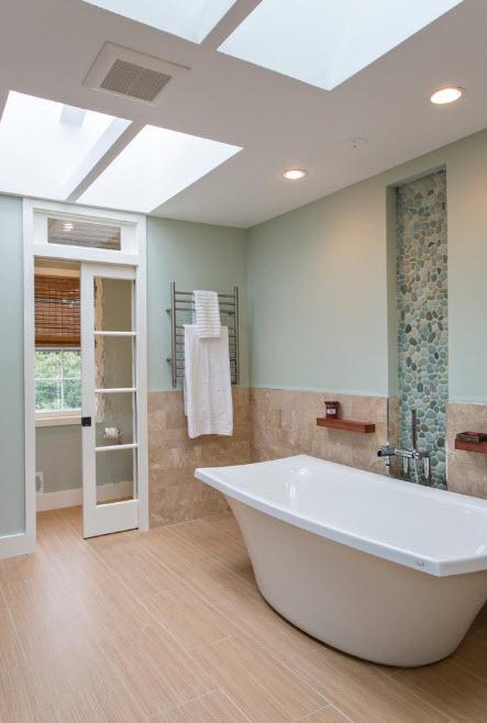 Прозрачность дверей для ванной