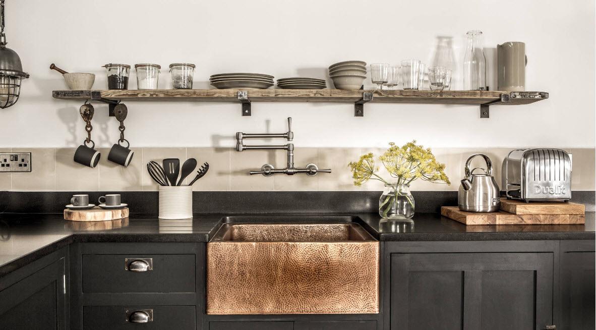 Оригинальные решения в кухонном пространстве