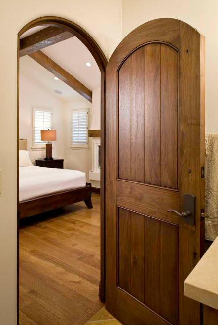 Двери с арочным верхом
