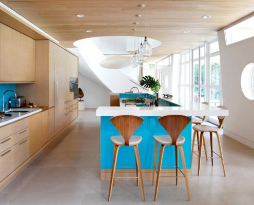 Современный стиль для оформления кухонного пространства