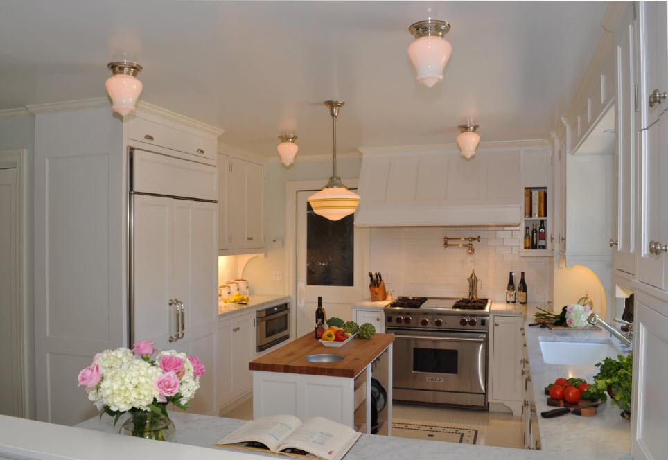 Удобный кухонный остров