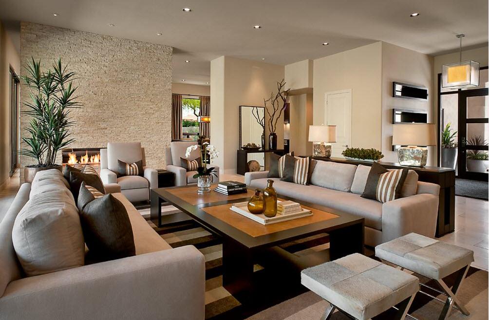 Дизайн гостиной лучшие