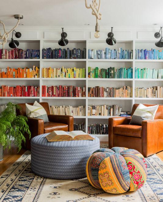 Вітальня-бібліотека